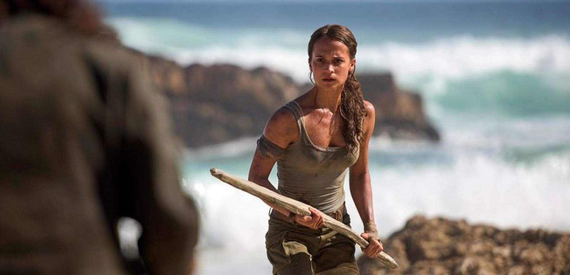 Alicia Vikander, mint Lara Croft