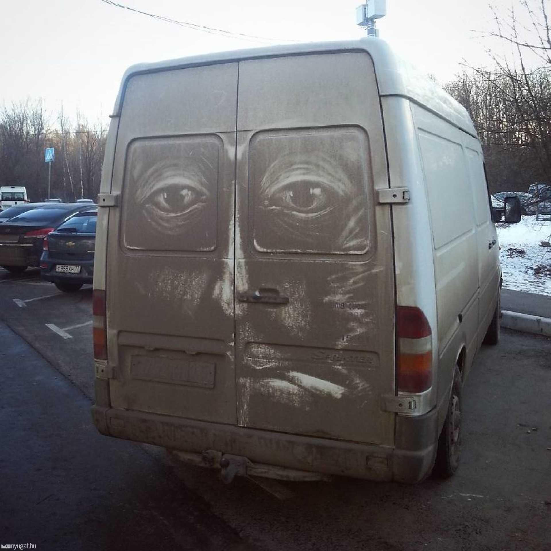 Porfestmények autókon