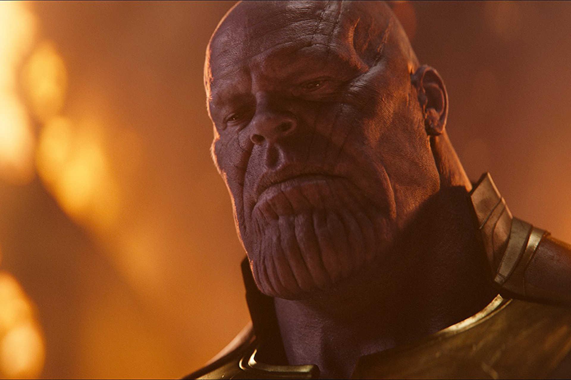 Josh Brolin Thanosként a Bosszúállók: Végjátékban