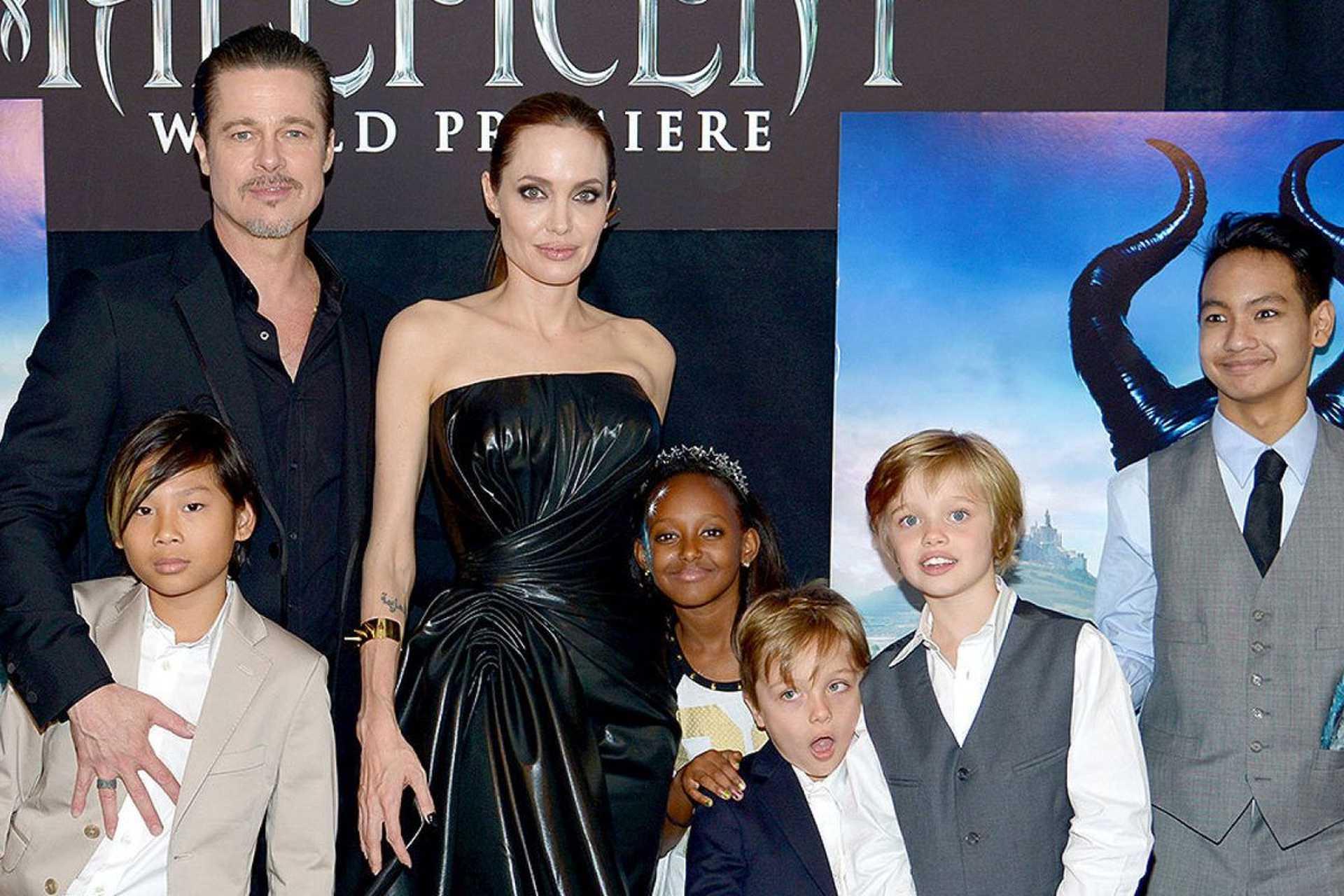 Angelina Jolie és gyerekei
