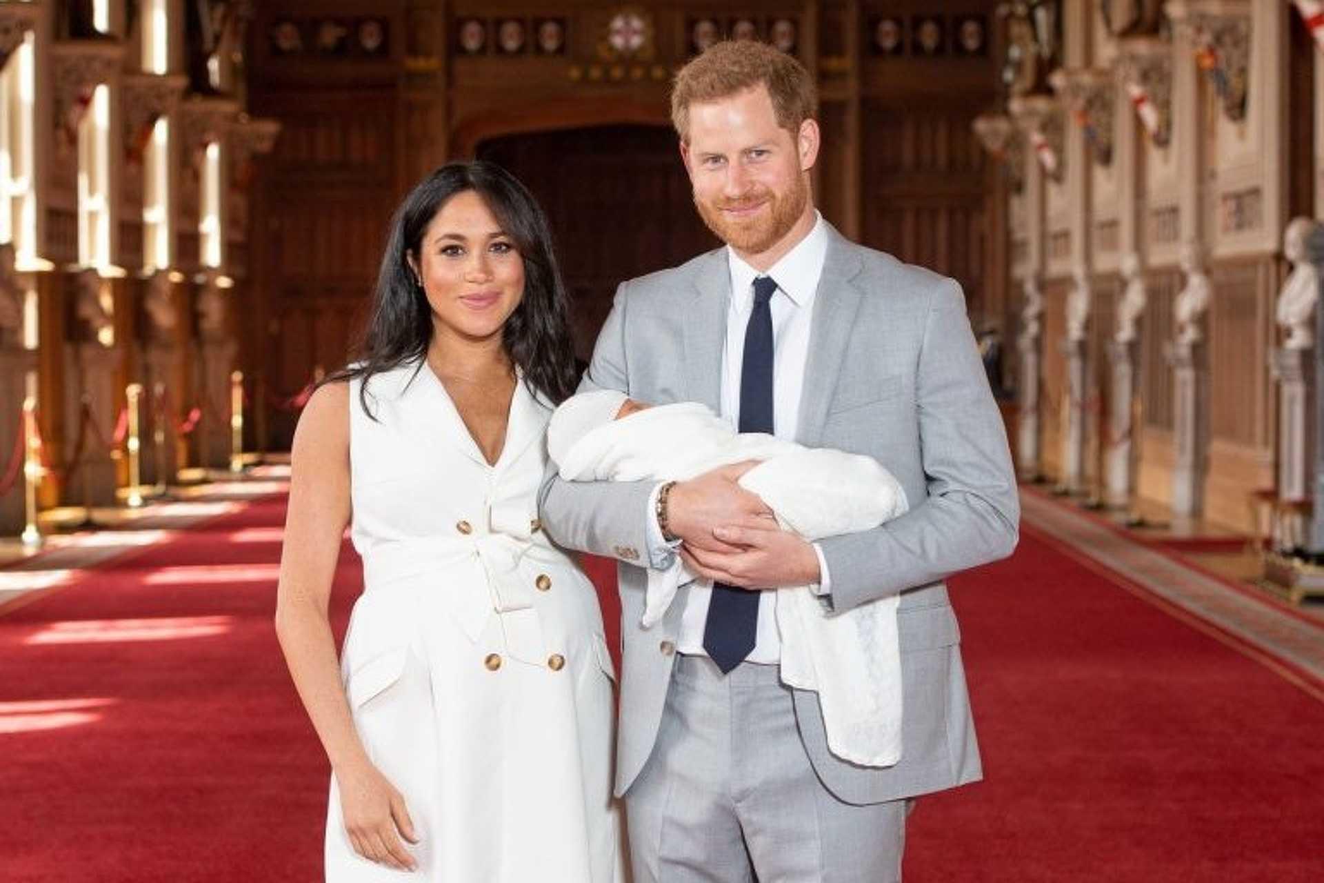 Meghan Markle, Harry és a kis herceg