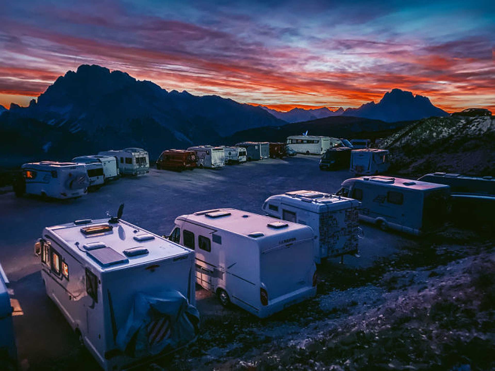 Naplemente - Leo Chan: 'Nightfall At The Dolomites'