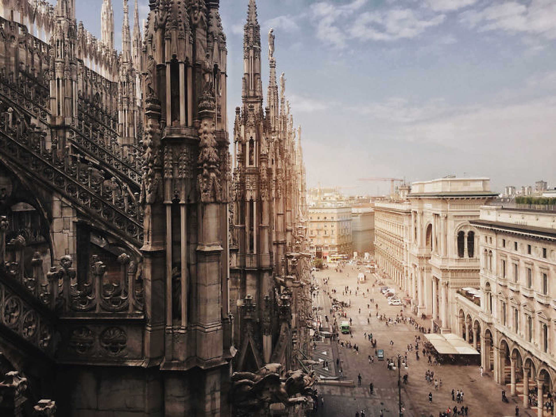 Építészet - Haiyin Lin: 'Duomo Di Milano'