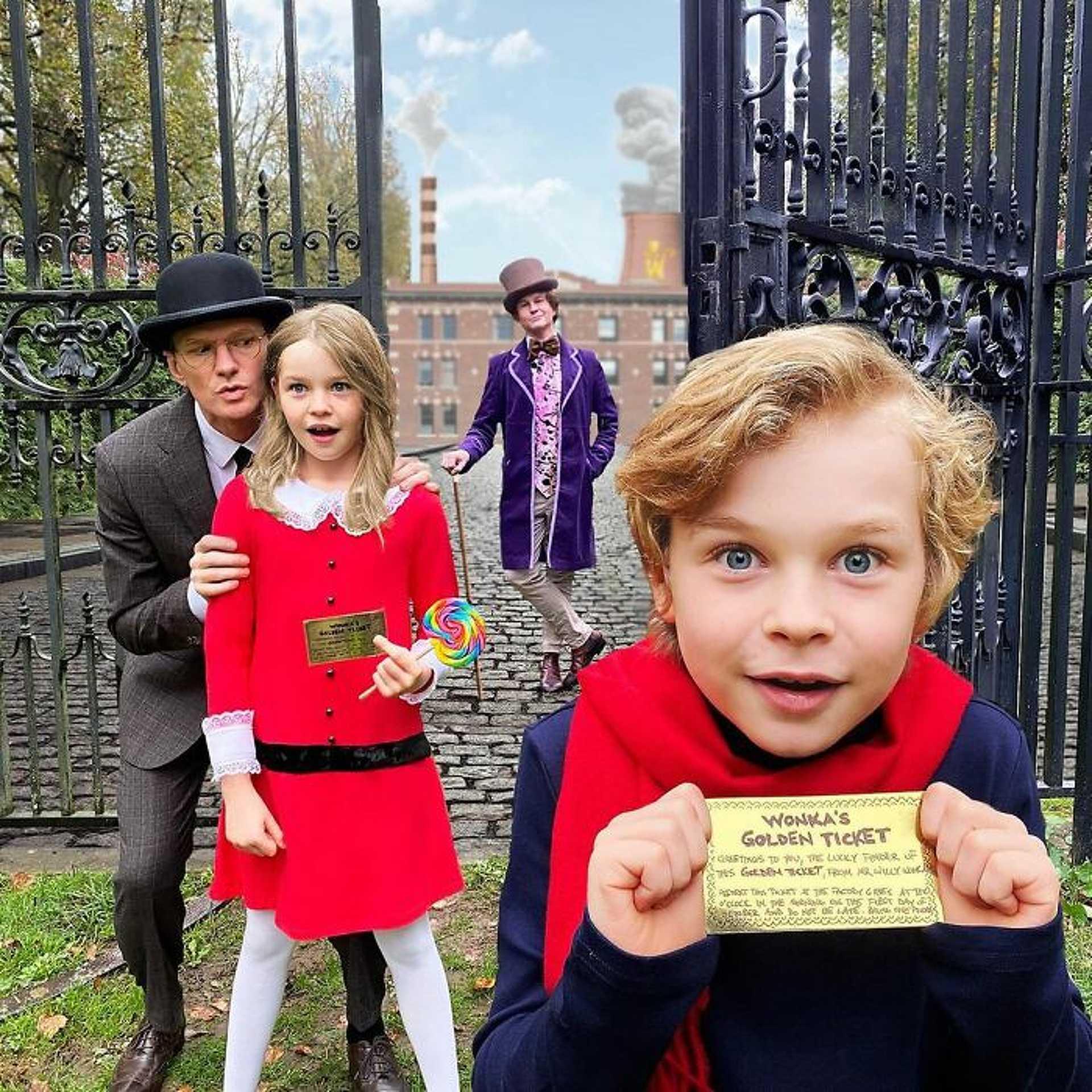 Neil Patrick Harris és David Burtka - Willy Wonka és a csokigyár