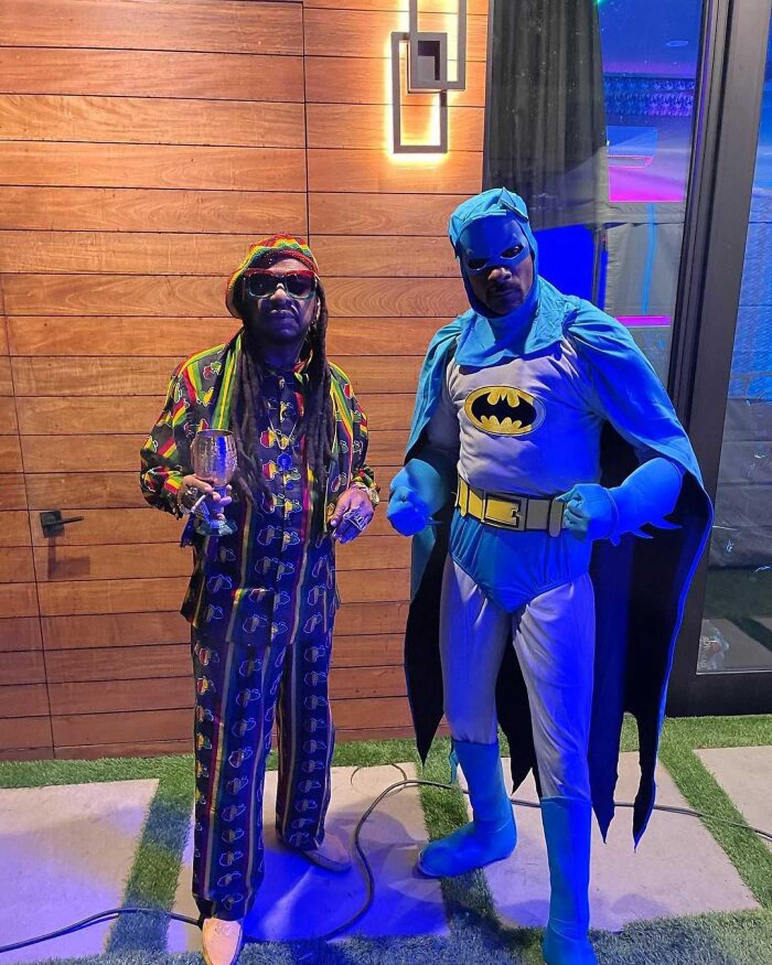Snoop Dogg és Don Magic Juan - Beanie Man és Batman