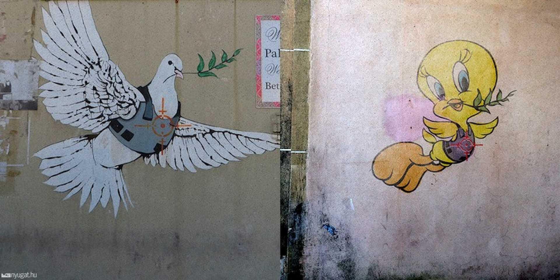 Butcher Billy beleköt Banksy-be