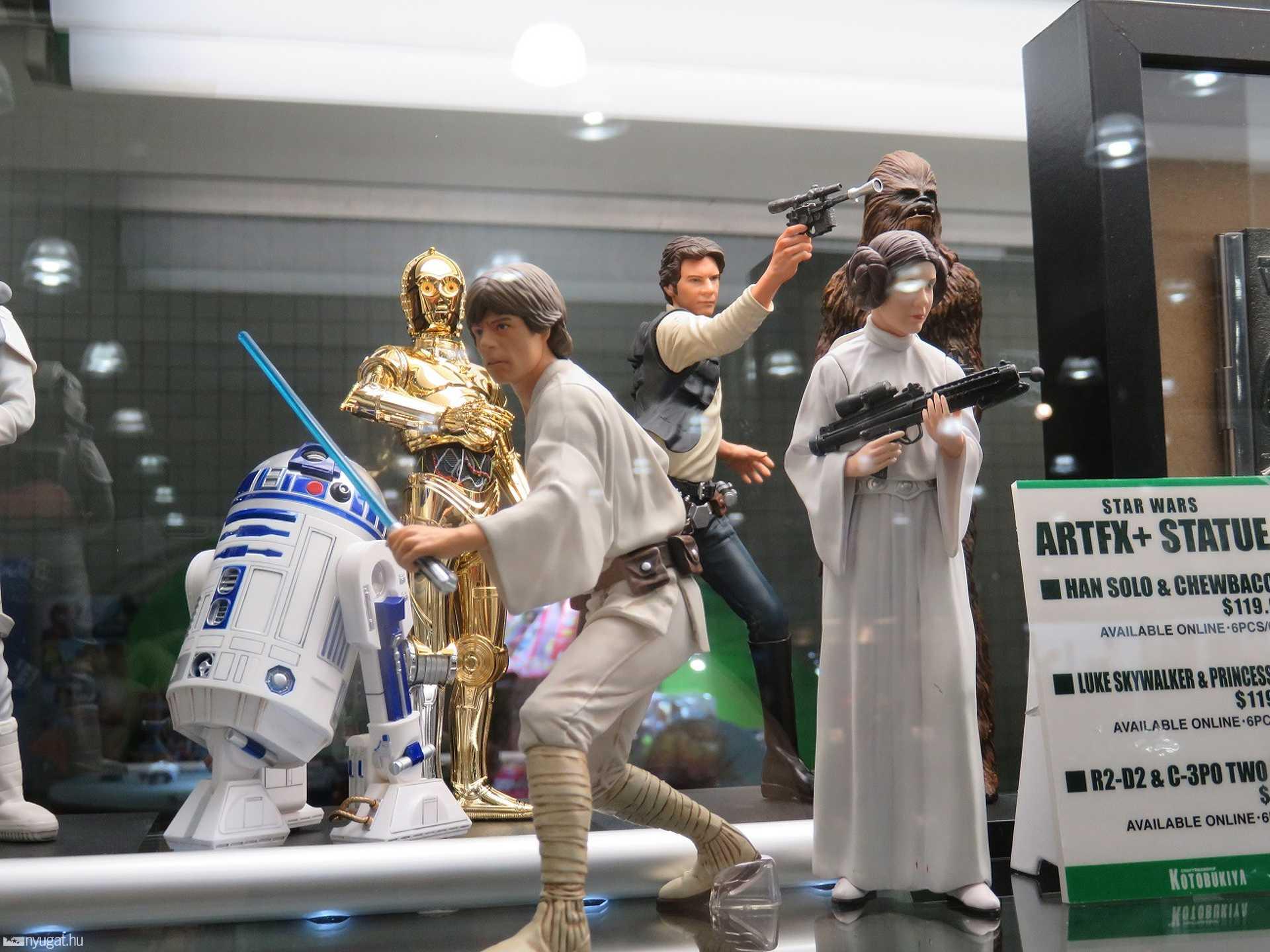 Természetesen a Star Wars sem maradhatott ki