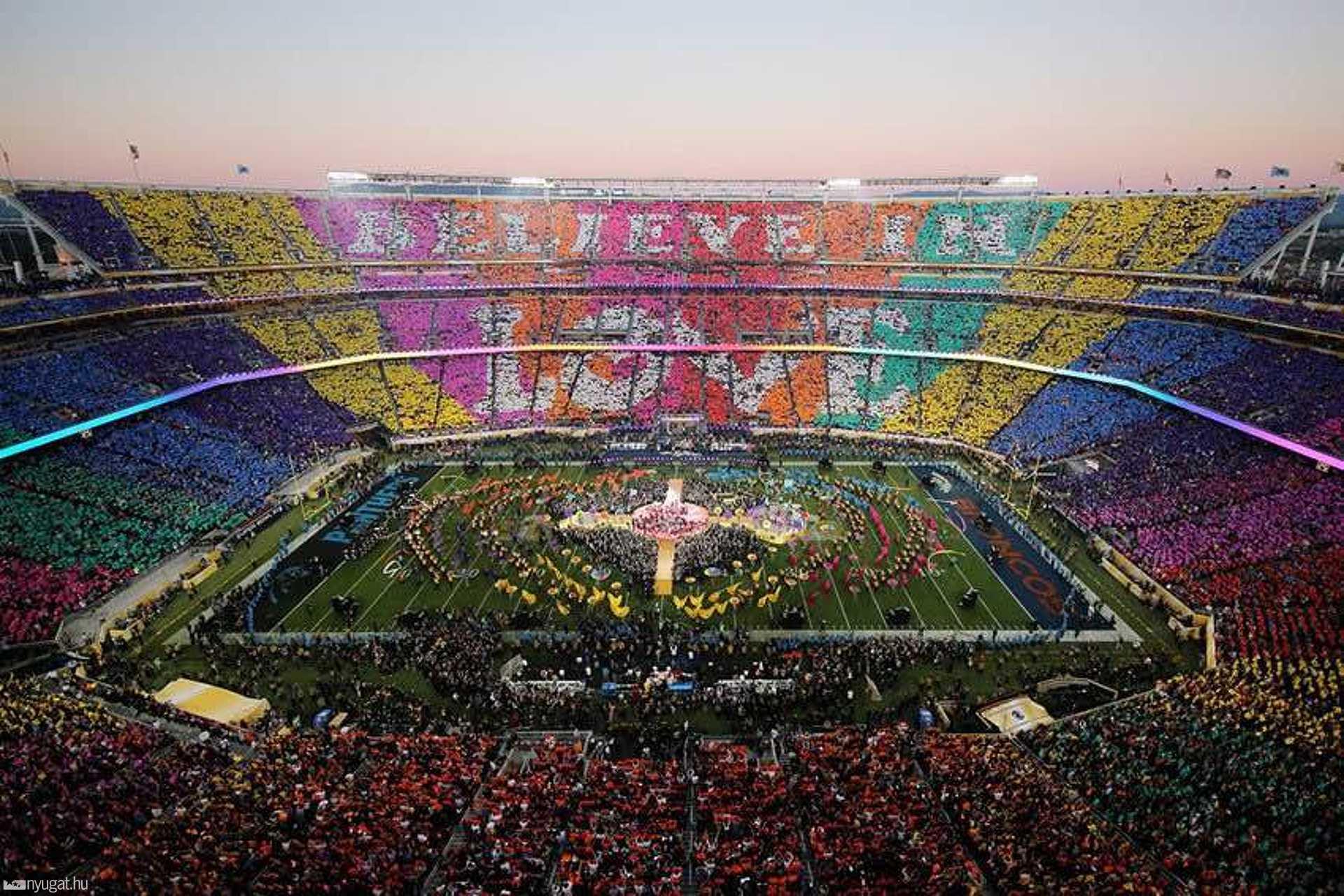 Így pompőzott a stadion