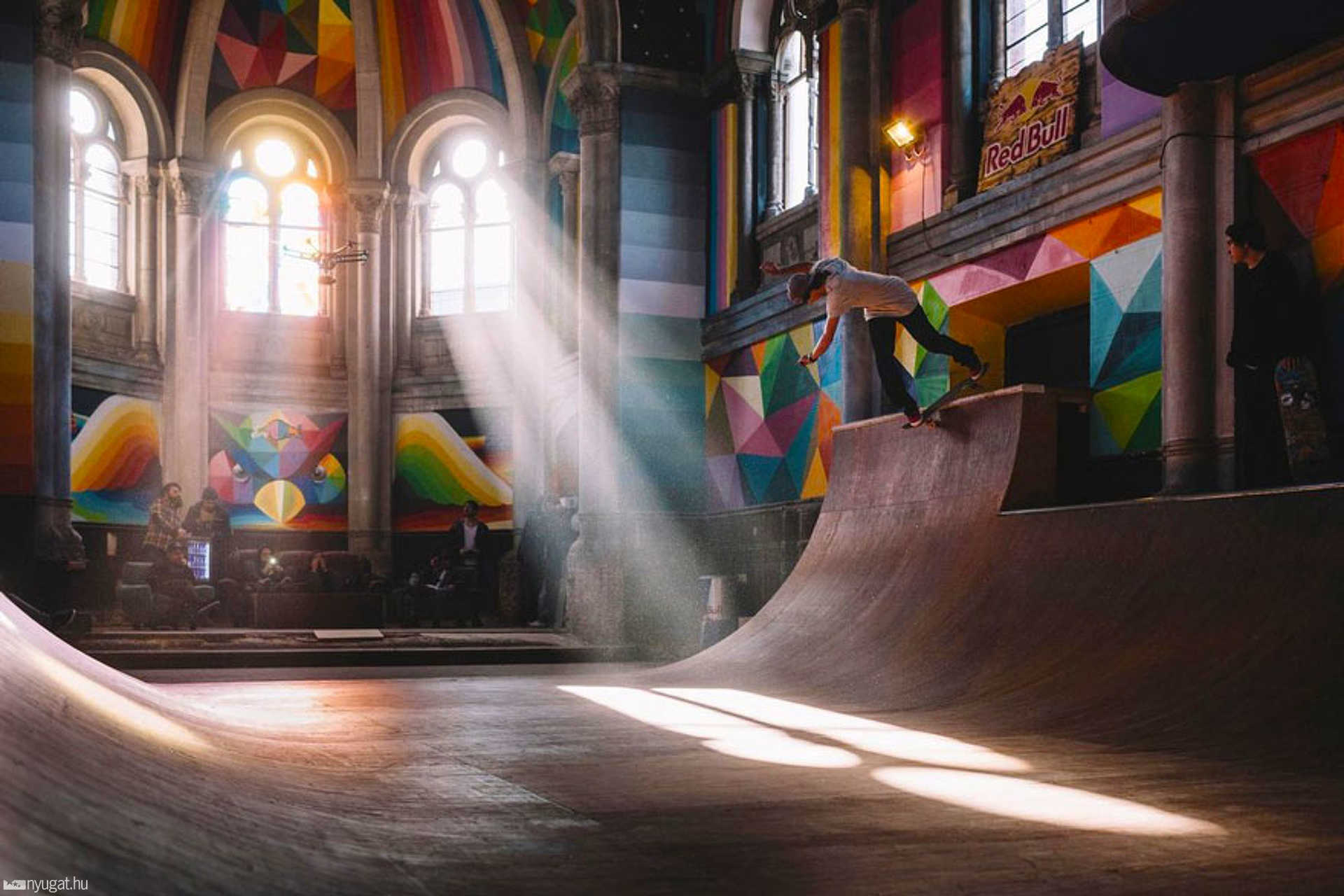 Templomból skatepark