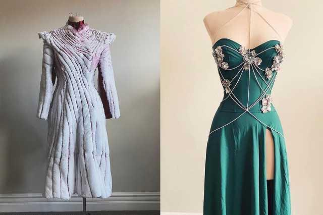 Sarah Hambly kreatív ruhái