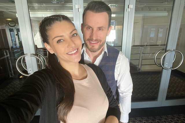 Kulcsár Edina és Csuti