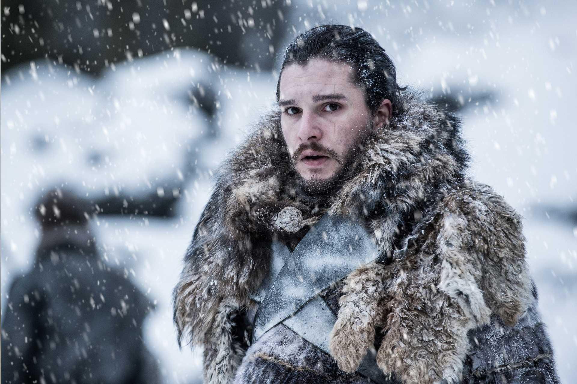 Jon Snow (Kit Harrington) a Trónok harcában.