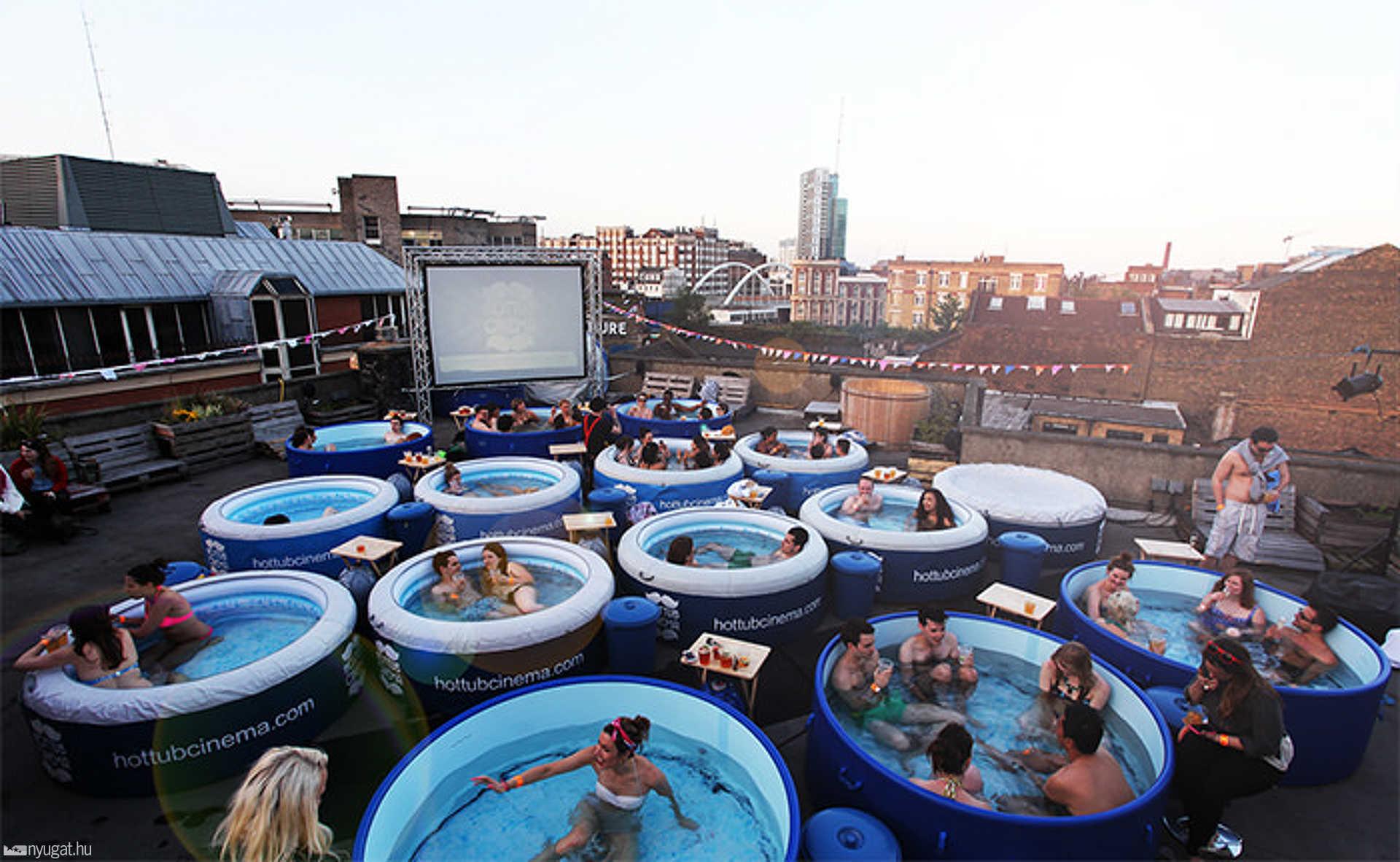 Hot Tub Cinema, Egyesült Királyság, USA, Ibiza
