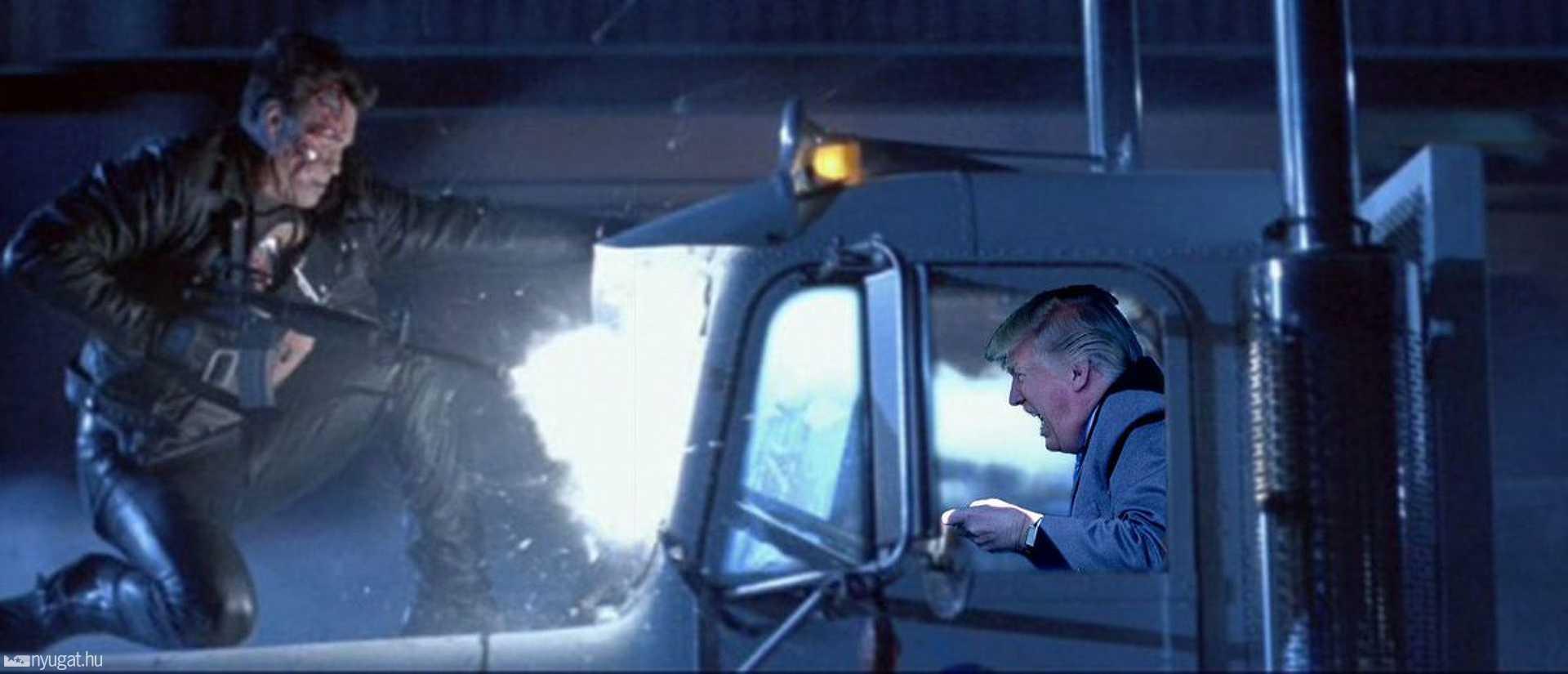 Trump és a Terminátor